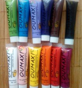 Новые Акриловые краски для дизайна ногтей