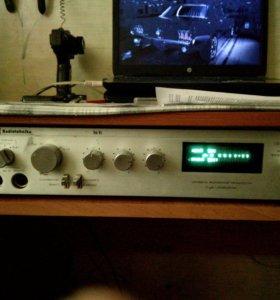 Радиотехника s-30 и усилитель