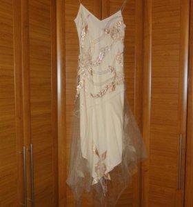 Платье коктельное вечернее из США