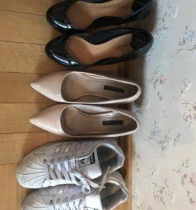 Туфли кеды adidas