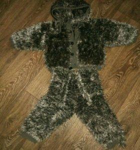 Детский костюм волчек на мальчика