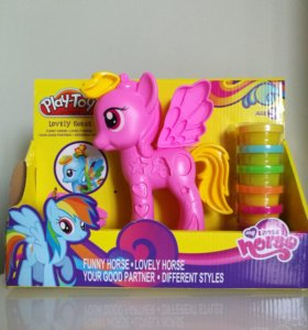 Набор для девочки пластилина Play-doh милая пони