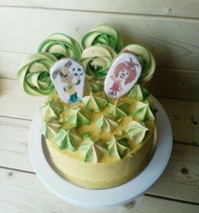 Детские торты на заказ!
