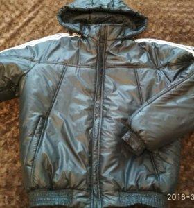 Новая демисезонная мужская куртка р. 48-50