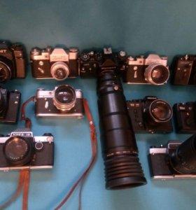 Советские фотоаппараты Зенит и Киев 19