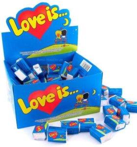 Жвачка Love is...