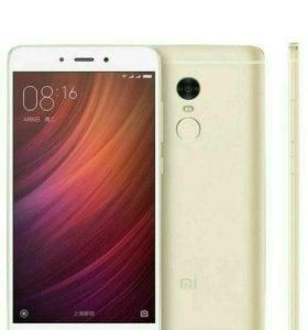 Xiaomi redmi note 4 global черный,золотой