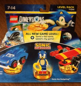 Lego Dimensions Sonic Level Pack 71244
