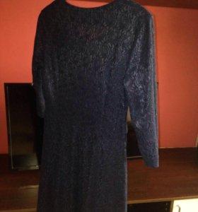 Кружевное платье 50 размер 🛑🛑