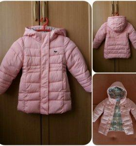 Куртка для девочки 3-4 года