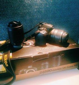 Фотоаппарат Nikon D3100 double VR Zoom Kit