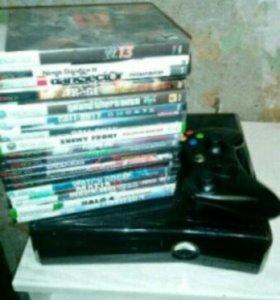 Xbox 360 +16 игр торг не уместен