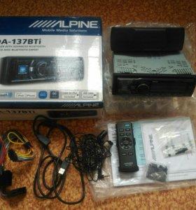Alpine cda 137 bti процесорная