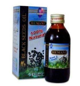 Масло чёрного тмина, 125ml Hemani