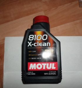 "Масло моторное ""8100 X-clean 5W-30"", 1л"