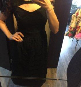 Новое платье кружевное