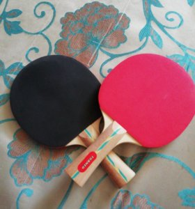 Ракетки для настольнего тенниса.