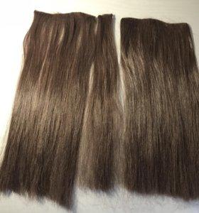 Волосы накладные(на заколках) искусственные