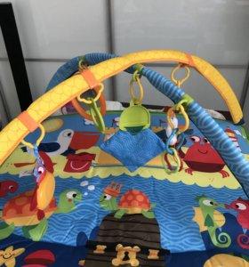 Новый !!!!развивающий коврик Tiny Love🎀