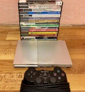 PlayStation 2 + куча игр
