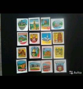 Картинки наклейки водные