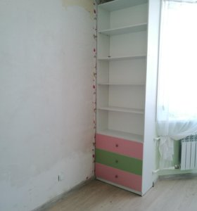 Стол, тумба, 2 шкаф - стеллажа