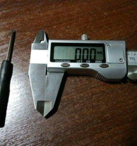 Железный электронный (цифровой) штангенциркуль