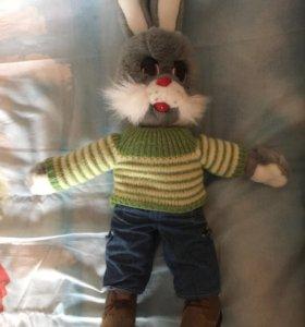 Заяц Степаша (Спокойной ночи малыши) /. игрушка