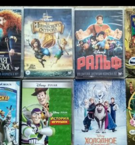 DVD диски с мультиками