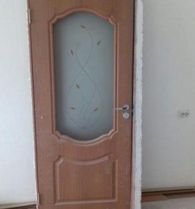 Продам комплект межкомнатных дверей 6 шт!