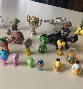 Игрушки малышки