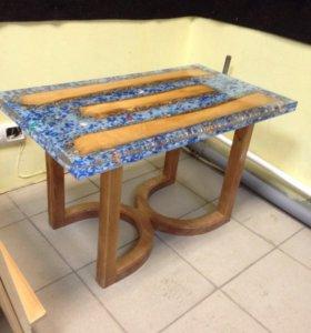 Журнальный столик (ручная работа)