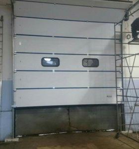 Ремонт секционных откатных ворот