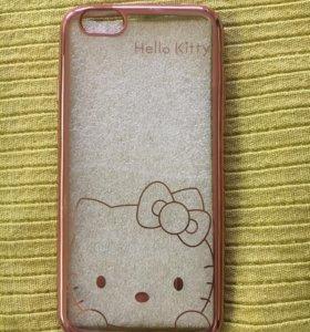 Чехол Hello Kitty на iPhone 6/6s