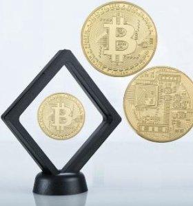 Классический Bitcoin (Биткоин) в рамке
