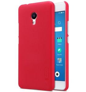 Пластиковый чехол для Meizu M5S от Nillkin Красный