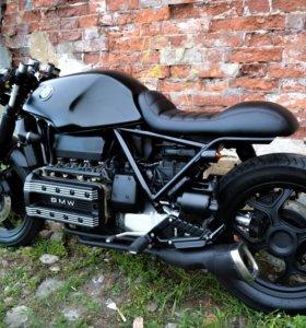 Мотоцикл BMW K100 custom переделка cafe racer