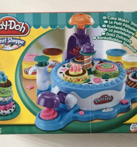 Play Doh фабрика тортиков