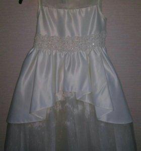 Платье очень нежное 110/116