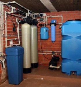 Очистка воды от жесткости из скважины в Ростове