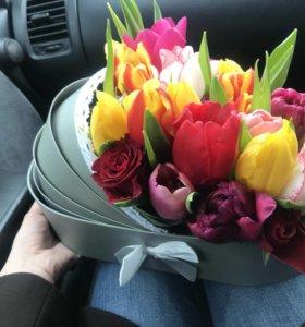 Цветы в люльке ( коляске )
