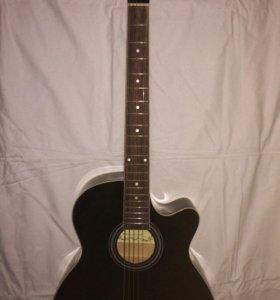 Гитара MARTINEZ W-91C/BK