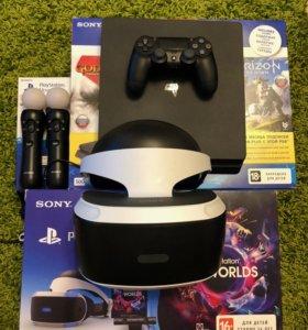 Playstation VR + PS Camera v2 + 2 PS move