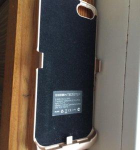 Чехол-зарядка на iPhone 6