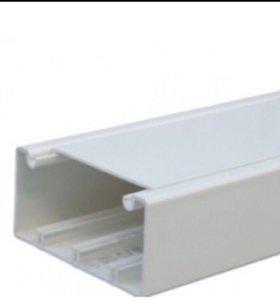 Короб 110x50 Efapel в комплекте с крышкой 80 мм