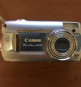Цифровой фотоаппарат Canon PowerShot A470