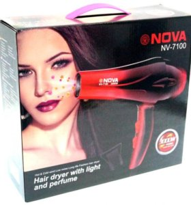 """Фен NV-7100 3000W / Четыре режима """"NOVA"""""""