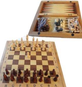 Шашки+нарды +шахматы