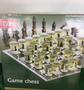 Рюмочная игра шахматы