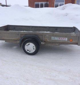 Прицеп МЗСА для перевозки снегохода